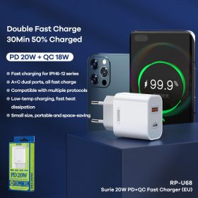 Fast Charger Remax RP-U68